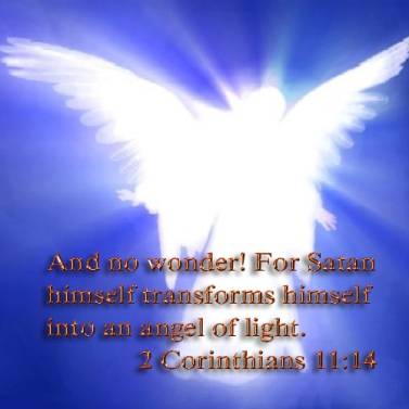 Image result for satan masquerades as an angel of light